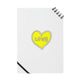 きいろいハートiPhone Notes