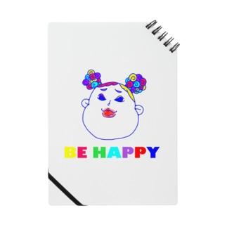 BE HAPPYギャルてやん 無地シリーズ Notes