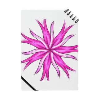 ピンクの花 Notes