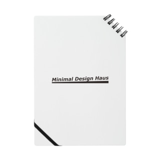 Minimal Design Hausロゴ Notes