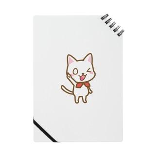白ねこ公式キャラクター Notes