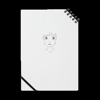 no_knkmの女の子2  ノート Notes