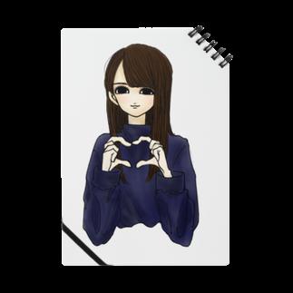 hona_channnnの女の子 ハート Notes