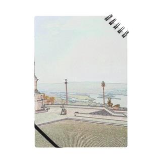 CG絵画:ヴィアナ・ド・カステロの風景画 CG art: Rio Lima / Viana do Castelo Notes