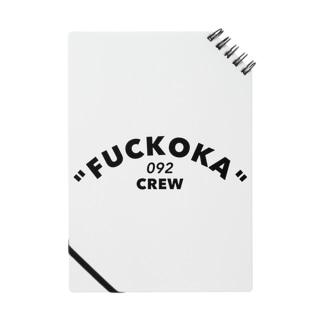 「FUCKOKA 092 CREW」 Notes