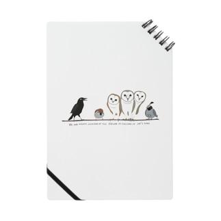 鳥たちのさえずり Notebook