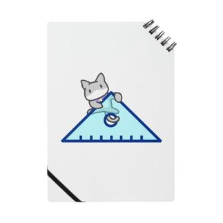 三角定規によじのぼるネコ Notes