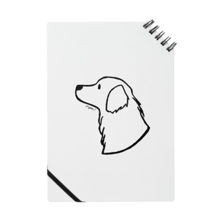 aya1のゴールデン・レトリーバー〈線〉 Notebook