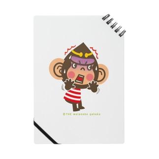 """ドングリ頭のチンパンジー""""ビックリ"""" Notes"""