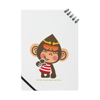 """ドングリ頭のチンパンジー""""失笑"""" Notes"""