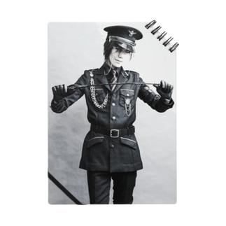 軍装の男装の麗人グッズ Notes