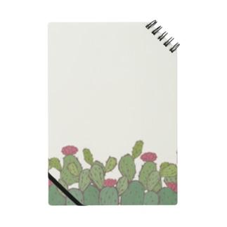 【植物柄】レトロなサボテン柄 Notes