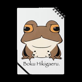ぴよのカエル屋さんのぼく、ヒキガエル Notes