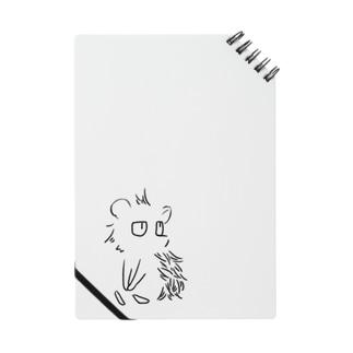 見つめる針鼠(黒) Notes