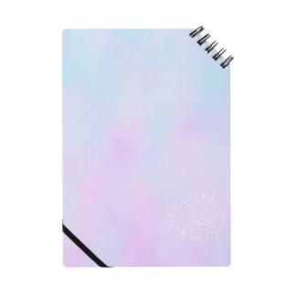 花とピンクと水色 Notes