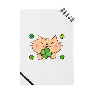 eigoyaのクローバーと茶トラ猫 Notes