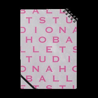 NAHO BALLET STUDIOのアルファベット Notes