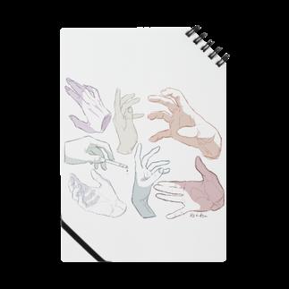 らくがきの手 Notes