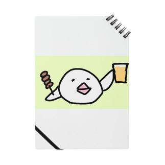 乾杯の音頭をとる白文鳥です Notes
