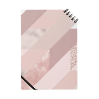 異素材モード系PINK。 Notes