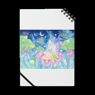 曄月 陽(はなつき よう)の妖精花咲く夜ノート