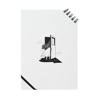 アトリエ「空白」ロゴグッズ Notes