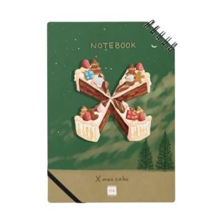 喫茶角砂糖の【X】Xmasケーキ Notes