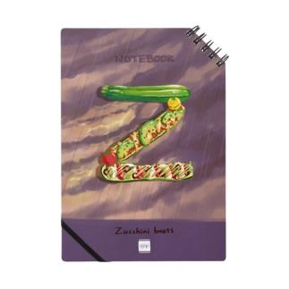 【Z】ズッキーニボート Notes