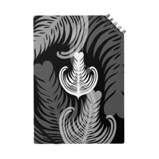 【ラテアート】ブラックリーフ Notes