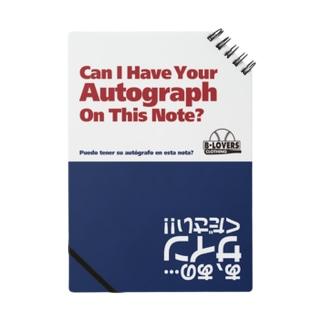 「トリリンガルサイン帳 猫」 Notes