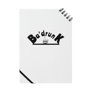 Ba'drunk newブランドロゴシリーズ Notes