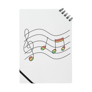 虹の音符たち Notes