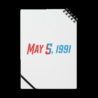 SANKAKU DESIGN STOREの1991年5月5日は彼らの記念日。 Notes