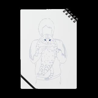 pulTの抱っこされた猫 シンプル Notes