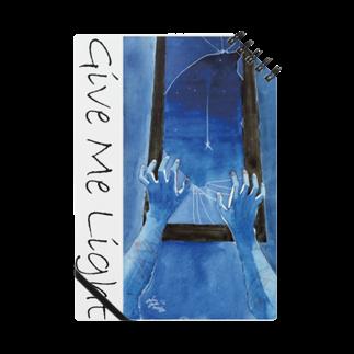 暗国の杜 SUZURI支店のGive Me Light Notes