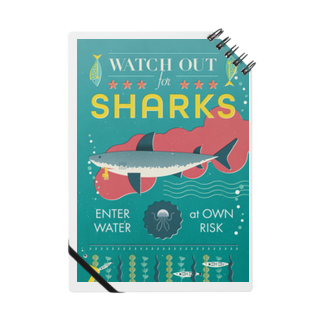 cdh-designのWATCH OUT FOR SHARKS Notes