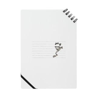 罫線で遊ぶカエル Notes