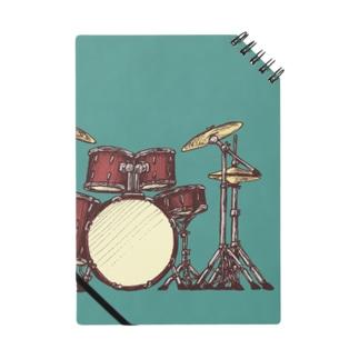 ドラムセット Notes