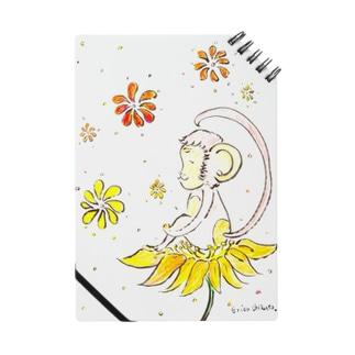 幸せのお花とさる Notes