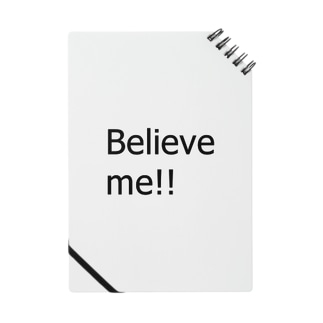 Believe me!! Notes