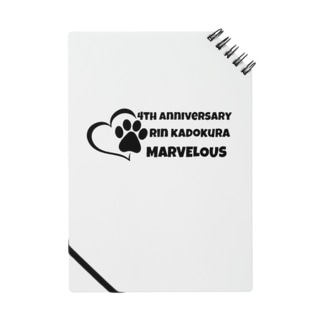 門倉 凛の4th Anniversaryグッズ Notebook