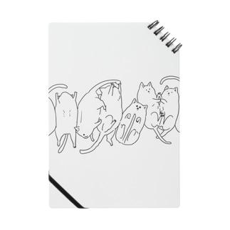 猫の列 Notes