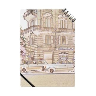 CG絵画:ローマ市内の風景画 CG art: view of Rome / Roma Notes