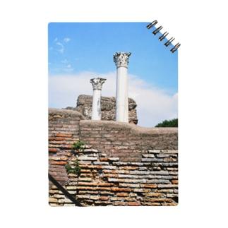 イタリア:オスティアの神殿遺跡 Italy: view of Ostia Notes