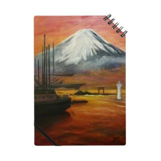 YOSHIKO MIYAHARA「森戸海岸からの富士」 Notes