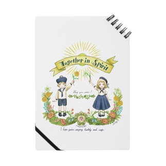 Together in Spirit     コロナ医療チャリティーグッズ   Notes
