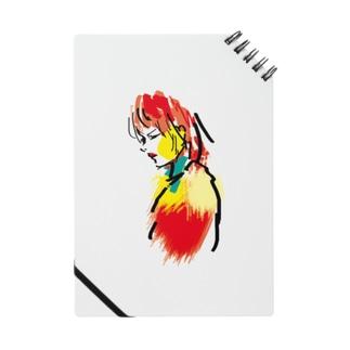 赤リップ Notebook