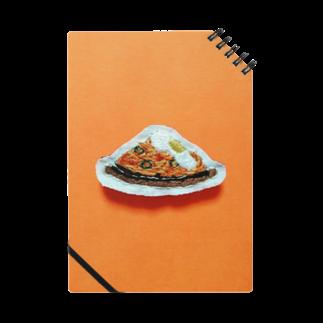 m_shishuuの目玉焼きのせ鉄板ナポリタン Notes