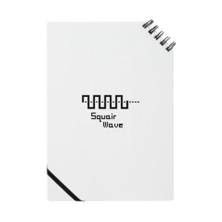 オリジナル Square wave ロゴ 8bit風 Notes