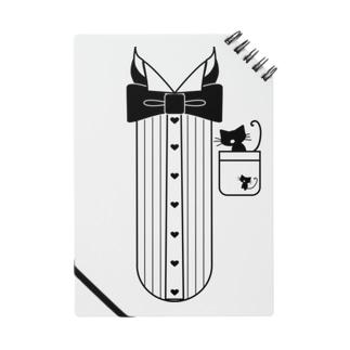 猫ドレスシャツ Notes